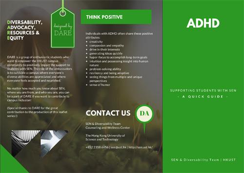 ADHD Leaflet