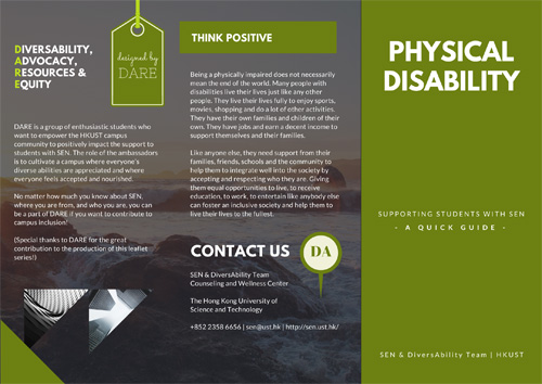 Physical Disability Leaflet
